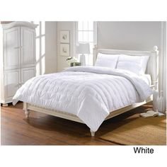 @Overstock - This 3-piece Chauffoir comforter set is beautifully crafted with fine stitching and woven fabric detail. This sophisticated set includes a comforter and two shams with a polyester construction that is machine washable.http://www.overstock.com/Bedding-Bath/Chauffoir-3-piece-Comforter-Set/7305003/product.html?CID=214117 $56.24