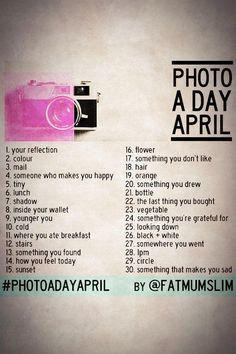 I'm going to be taking this challenge for the month of May! Join me won't you?!