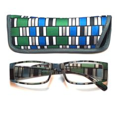 3.00 reading glasses geometric design with case 3.00 reading glasses geometric design with case Accessories Glasses