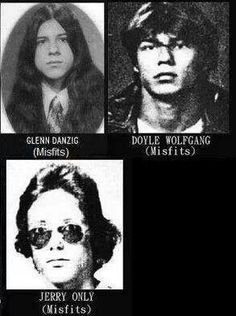 Misfits high school photos.