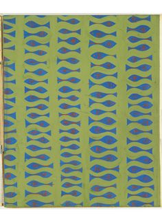 """design-is-fine: """" Donald Deskey Associates, Album of Designs, 20th century. brush and gouache on thin blue coated board pasted on board. Via Cooper Hewitt """""""