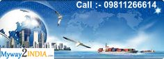 Get a #Best #Courier for #International #Shipping. For more info Call us :- 09811266614 (0r) Skype bluestar2424 For more:-www.myway2india.com