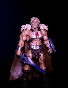 He-man custom head V. 3.0 (Masters of the Universe) Custom Action Figure