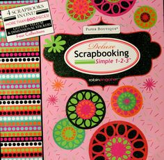 New Seasons Paper Boutique Robin Zingone Deluxe Scrapbooking Simple 123 12 x 12 Pages Kit