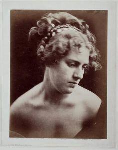 photo taken in 1872  by J M Cameron