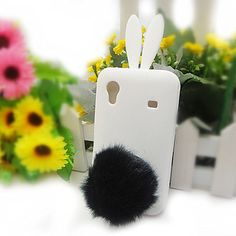 Selectable Bunny Cute Rabbit TPU Skin Case Cover for Samsung Galaxy Ace S5830 | eBay  valkoinen tai sininen