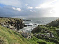 View from Kilbarron Castle, County Donegal, Ireland. Birth place of Mícheál Ó'Cléirigh, leader of the Four Masters. Blog article.