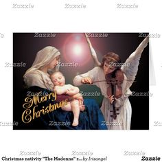 Madonna and Child White Lamb Christmas After Bougeureau Peace on Earth Fridge Magnet: 3.5