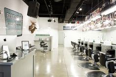 blue star barber shop - Google Search