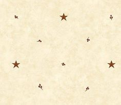 Interior Place - Beige Barn Star and Sprigs Wallpaper, $27.75 (http://www.interiorplace.com/beige-barn-star-and-sprigs-wallpaper/)