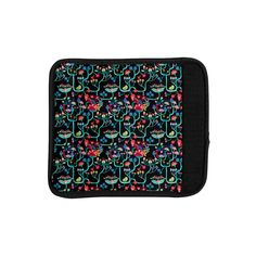 Kess InHouse Agnes Schugardt 'Antique Folk' Rainbow Luggage Handle Wrap
