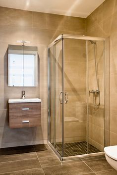 Compact bathroom for basement Reno project - this would work on both the main floor and the basement Small Basement Bathroom, New Bathroom Ideas, Bathroom Doors, Bathroom Design Small, Bathroom Layout, Bathroom Interior Design, Modern Bathroom, Compact Bathroom, Bathroom Plumbing