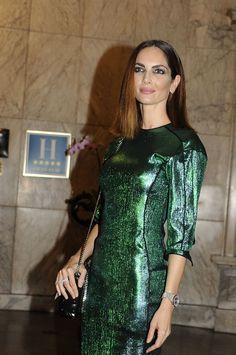 Eugenia Silva  #EugeniaSilva Manolo Blahnik El Arte Del Zapato Exhibition in Madrid http://ift.tt/2j5VMHs