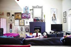 Colorful Apartment interior design in London 2