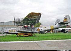 Spanish Air Force (SPAF) Dornier Do-24T-3  HD5-2 / 58-2 (cn 5341) Three-engined rescue seaplane preserved in the Museo del Aire.