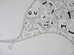 95 Best Doodle Art Monsters Images On Pinterest