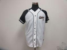 True Fan Houston Astros Button Up Baseball Jersey sz L Large MLB Baseball  #TrueFan #HoustonAstros #tcpkickz