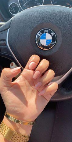 Natural Acrylic Nails, Pink Acrylic Nails, Pastel Nails, Natural Nails, Pink Nails, New Years Nail Designs, Fall Nail Designs, Acrylic Nail Designs, Summer Gel Nails