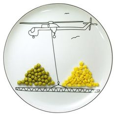 Play with your food plates
