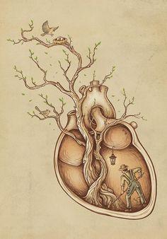 Wall Art by Enkel Dika | Trees of Life | CrudeArea.com