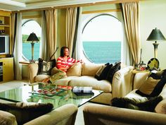 Buy a second home on a cruise ship, circumnavigating the globe year-round.  (Units on 'The World' range from studios to three bedrooms)