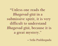 tip for reading and hearing Bhagavad Gita