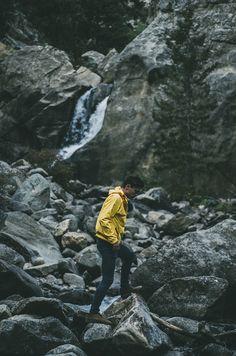 Yellow Rain Jacket!