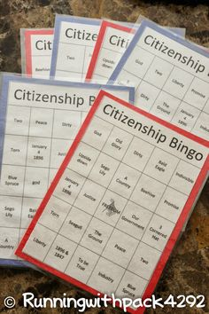 This months core value that I was teaching at Round Table is Citizenship. When I started trying to come up with ideas to teach I thought abo...