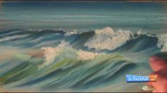 How to Draw Waves with Chalk Pastels ----- fantastic, I love the water in all its forms, I'll try to draw the sea according to the instructions in this tutorial. thanks for sharing it