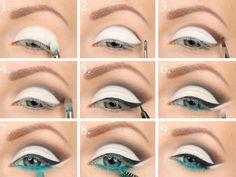 crop eye makeup