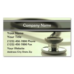 Medical Business Cards  Business Cards Medical And Business