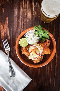 Restaurant Review: Brit Stop - Austin Monthly - July 2014 - Austin, TX