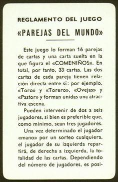 Nombre:Parejas del Mundo- Pais: España. Fabricante: Fournier.- Fecha: 1.972 BARAJA ORIGINAL