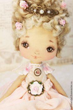 Muñecas hechas a mano con sabor. Masters Feria - Sueños rosados hechos a mano. Hecho a mano.