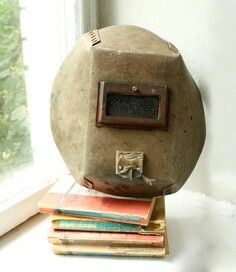 Vintage Welding Mask/ Hand Shield Soviet Vintage by ProjectSarafan, Welding Rigs, Welding Art, Welding Hood, Wood Artwork, Great Works Of Art, Welding Machine, Work Tools, Blacksmithing, I Shop