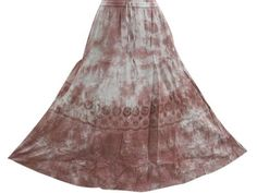 "Bohemian Skirt, Stonewashed Brown Eyelet Skirts for Womens, Length 34"" Mogul Interior,http://www.amazon.com/dp/B00BTYNMN8/ref=cm_sw_r_pi_dp_Hi8qrb0PW7GCCJH8"