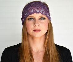 Our original design Om beanie hat features a black patch and optional faux fur pompom. Stay warm after a yoga session in this fun stylish toque. Shop our winter hat collection today! Yoga Session, Lace Headbands, Purple Lace, Wild And Free, Stay Warm, Beanie Hats, Knitted Hats, Winter Hats, Knitting