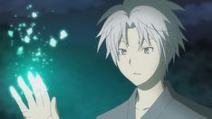 Gin (Hotarubi no Mori e)  It's been several years since I've watch something that could make me genuinely cry.