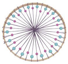 Bastelanleitung: Traumfänger In Boho-Far - Diy Crafts - Marecipe Indian Summer, Diy Décoration, Diy Crafts, Rainbow Diy, Dream Catcher Craft, Dream Catchers, Crochet Dreamcatcher, Baby Mobile, Christmas Crafts
