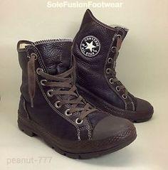 371a70b45f5f Mens-Converse-All-Star-Outsider-Leather-Boots-sz-6-Brown-HI -Top-Womens-25cm-EU40