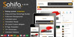 Sahifa - Responsive WordPress News,Magazine,Blog - ThemeForest Item for Sale $45