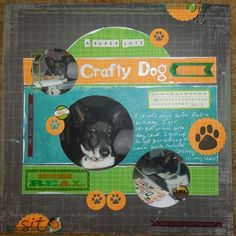 A super cute crafty dog : Gallery : A Cherry On Top
