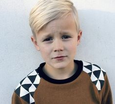 Cutest little blonde boy