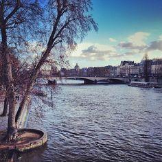 Coule la Seine.