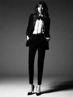Grace Hartzel Rocks the Saint Laurent Pre Fall 2014 Lookbook
