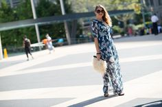 Street Style Fashion Week Spring 2015 - NYFW Street Style Photos - Marie Claire