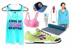 Giving Up Is Not An Option {Workout Wishlist}  - Look whose Simply Sophia Maria tank top is on this blogger's wishlist!!