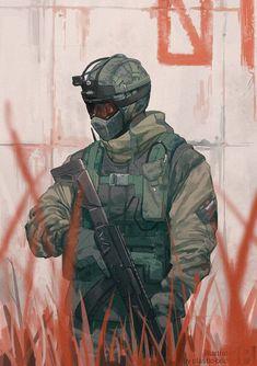 Tom Clancy's Rainbow Six - By plastic-bridge Rainbow Six Siege Anime, Rainbow 6 Seige, Rainbow Six Siege Memes, Tom Clancy's Rainbow Six, Rainbow Art, Anime Military, Military Art, Fanart, R6 Wallpaper