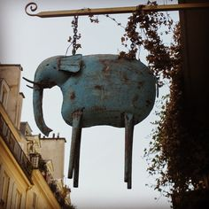 Cute shop sign in the Le Marais district, Paris