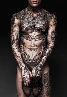 67 of the Coolest Body Tattoo Designs for Men and Women
